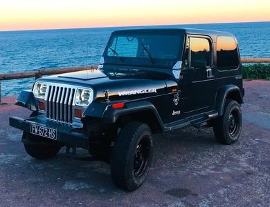 Jeep Wrangler Noir à Nice (Alpes-Maritimes)