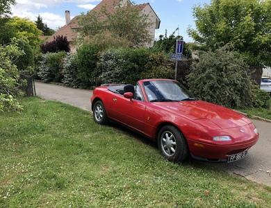 Mazda Mx5 à Mareil-Marly (Yvelines)