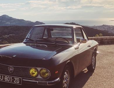 Lancia Fulvia à Marseille (10ème arr.)