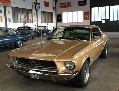 Ford Mustang (1ère Gen) à Rossfeld (Bas-Rhin)