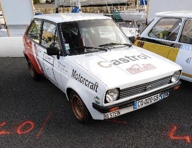 Ford Fiesta Mk1 75cv à Plounévez-Moëdec (Côtes-d'Armor)