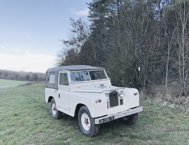 Land Rover Serie 2a 1961 à Paley (Seine-et-Marne)