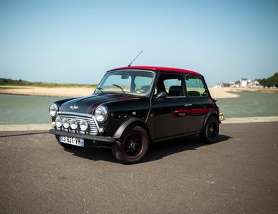 Austin Mini à Cabourg (Calvados)