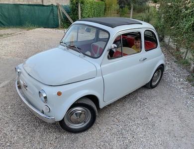 Fiat 500 à Parempuyre (Gironde)