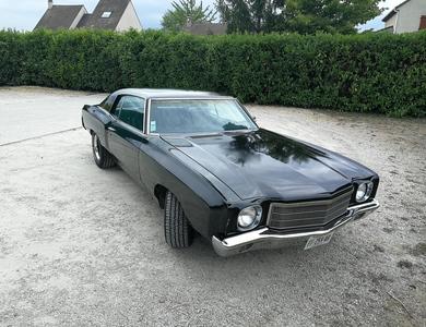 Chevrolet Monté Carlo 1970 à Paris (2ème arr.)