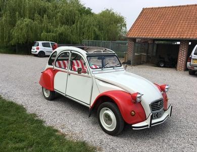 Citroen 2cv6 Dolly à Gondecourt (Nord)