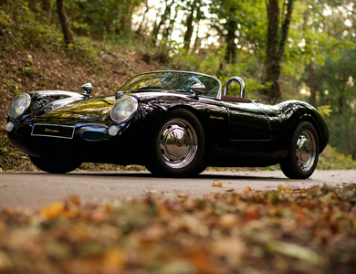 Porsche 550 Spyder à Lyon (6ème arr.)