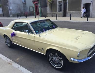 Ford Mustang (1ère Gen) à L'Huisserie (Mayenne)