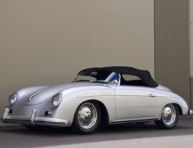 Porsche 356 Speedster à Vendeville (Nord)