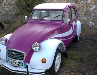 Citroen 2cv Violetta à Génicourt (Val-d'Oise)