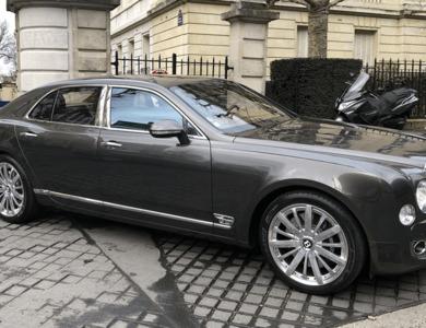 Bentley Mulsanne à Villeneuve-Loubet (Alpes-Maritimes)