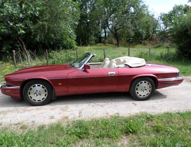 Jaguar Xjs à Cahors (Lot)