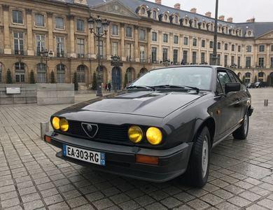 Alfa Romeo Alfetta Gtv6 à Marseille (8ème arr.)