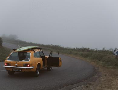 Ford Reliant Scimitar à Audierne (Finistère)