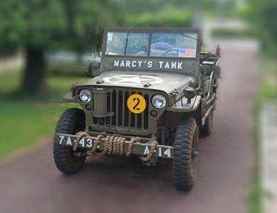 Jeep Willys à Paris (16ème arr.)