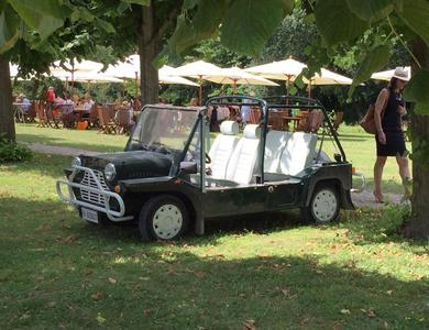 Austin Mini Moke à Saint-Maur-des-Fossés (Val-de-Marne)