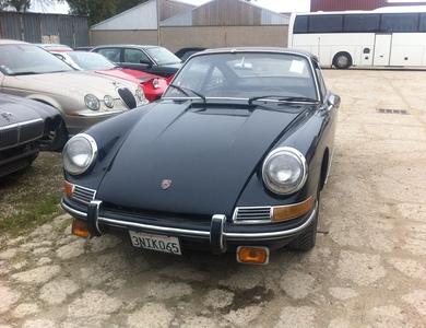 Porsche 912 à Paris (17ème arr.)