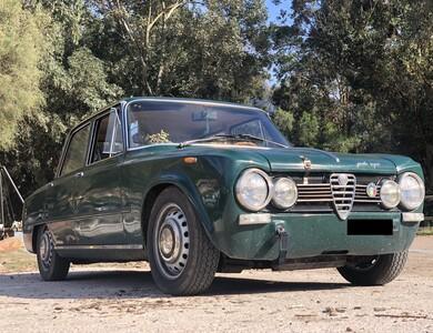 "Alfa Romeo Giulia Super ""bollino D'oro"" à Pélissanne (Bouches-du-Rhône)"