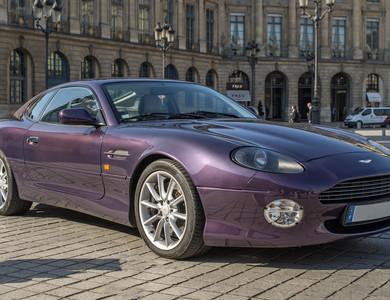 Aston Martin Db7 Vantage à Paris (11ème arr.)