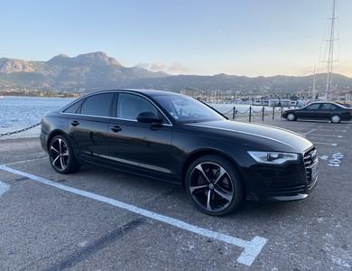 Audi A6 à Calvi (Haute-Corse)