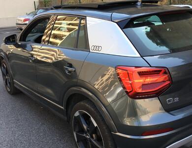 Audi Q2 à Nice (Alpes-Maritimes)