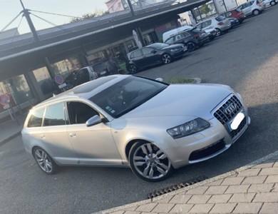 Audi S6 5.2 V10 à Sochaux (Doubs)