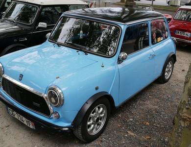 Austin Mini à Larreule (Hautes-Pyrénées)
