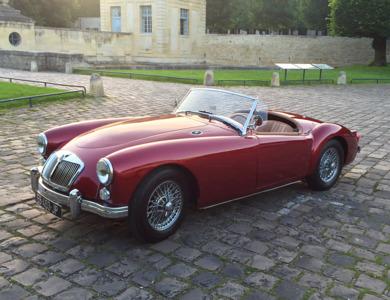 Mg Mga Roadster à Antony (Hauts-de-Seine)