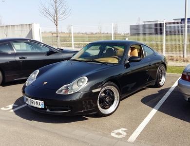 Porsche 911 Type 996 à Geispolsheim (Bas-Rhin)