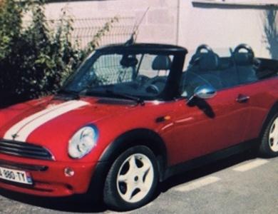 Mini Cabrio à Milhaud (Gard)