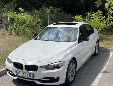 Bmw 318d à Bagnols-sur-Cèze (Gard)