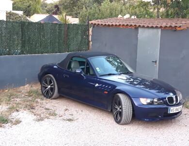 Bmw Z3 à Patrimonio (Haute-Corse)