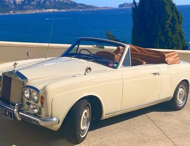 Rolls Royce Silver Shadow Convertible à Marseille (10ème arr.)