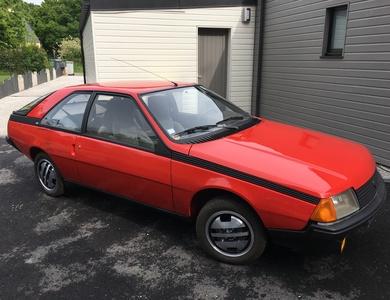 Renault Fuego à Miniac-Morvan (Ille-et-Vilaine)