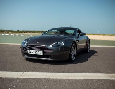 Aston Martin Vantage à Cabourg (Calvados)