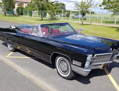 Cadillac Deville à Châteaubriant (Loire-Atlantique)