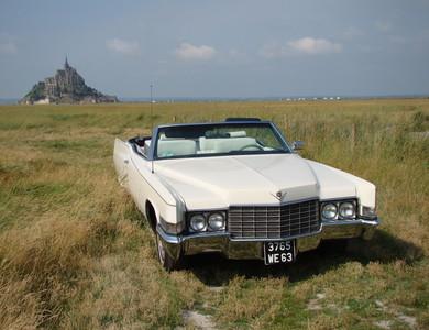 Cadillac Deville à Saint-Broladre (Ille-et-Vilaine)