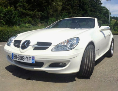 Mercedes-benz Slk à Briord (Ain)