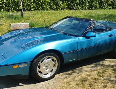 Chevrolet Corvette C4 1987 à Venerque (Haute-Garonne)