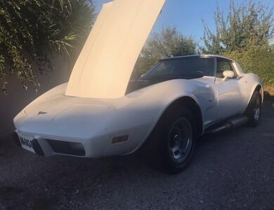Chevrolet Corvette à Garidech