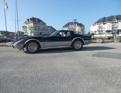 Chevrolet Corvette L 82 à Dives-sur-Mer (Calvados)