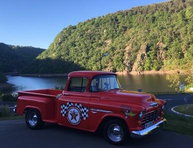 Chevrolet Pick Up à Les Ancizes-Comps (Puy-de-Dôme)