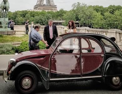 Citroen 2cv Charleston à Paris (4ème arr.)