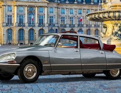 Citroen Ds Limousine Découvrable à Bouliac (Gironde)