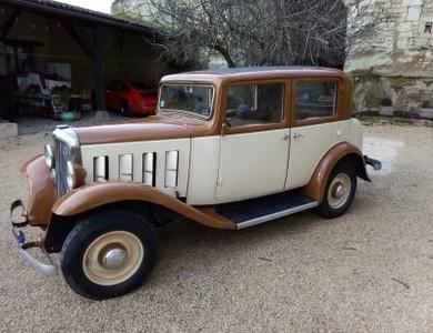Citroen Rosalie 8cv 1933 à Beaumont Saint-Cyr (Vienne)