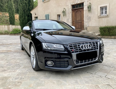 Audi S5 à Grimaud (Var)
