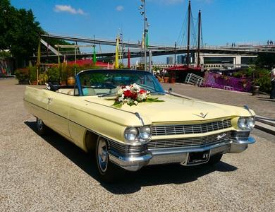 Cadillac Deville à Garéoult (Var)