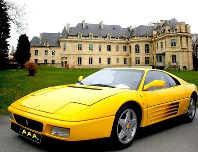 Ferrari 348tb à Lamorlaye (Oise)
