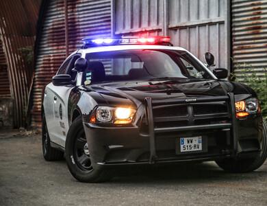 Dodge Charger Police à Villiers-sur-Marne (Val-de-Marne)