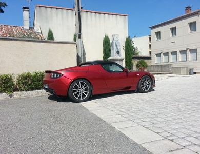Tesla Roadster 2.5 à Meyreuil (Bouches-du-Rhône)